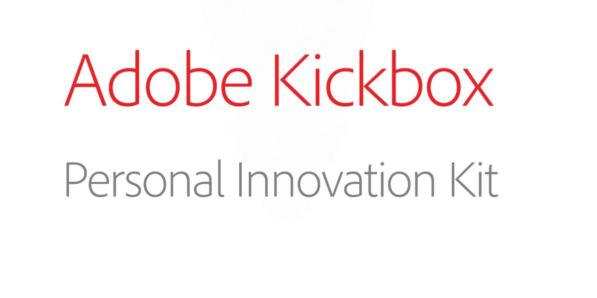 Adobe's Kickbox: The Kit To Launch Your Next Big Idea